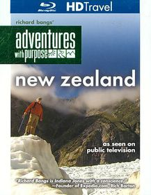 Adventures with Purpose:New Zealand - (Region A Import Blu-ray Disc)