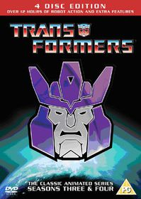 Transformers: Seasons 3 and 4 - (Import DVD)