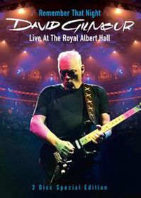 David Gilmour: Remember That Night - Live at the Royal Albert Hall - (Import DVD)