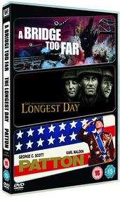 The Longest Day / A Bridge Too Far / Patton - (Import DVD)
