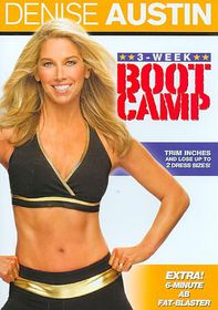 Denise Austin:3 Week Boot Camp - (Region 1 Import DVD)