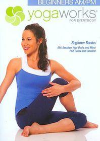Yogaworks:Beginners Am/Pm - (Region 1 Import DVD)