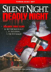 Silent Night Deadly Night Compilation - (Region 1 Import DVD)