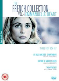 The French Collection: Vol. 4 - Emmanuel Beart - (Import DVD)