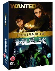 Wanted / The Incredible Hulk - (Import DVD)