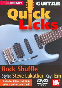Guitar Quick Licks:Steve Lukather Sty - (Region 1 Import DVD)