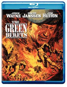 Green Berets - (Region A Import Blu-ray Disc)