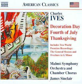 Ives: Holidays Symphony/general Slocum - Holidays Symphony / General Slocum (CD)