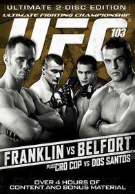 Ufc 103:Franklin Vs Belfort - (Region 1 Import DVD)