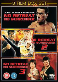 No Retreat, No Surrender 1-3 - (Import DVD)