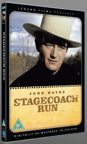 John Wayne - Stagecoach Run (Digitally remastered in colour) [DVD] [1936]