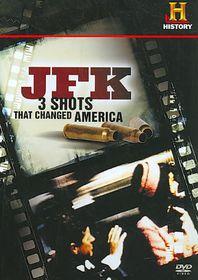 Jfk:3 Shots That Changed America - (Region 1 Import DVD)