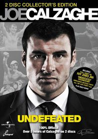Joe Calzaghe: Undefeated - (Import DVD)