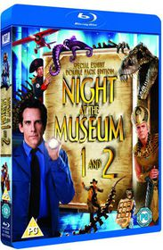 Night at the Museum / Night at the Museum 2 - (Import Blu-ray Disc)