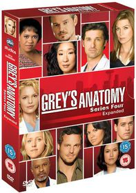 Grey's Anatomy: Series 4 - (parallel import)