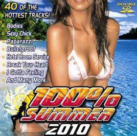 100% Summer 2010 - Various Artists (CD)