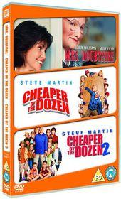 Cheaper By the Dozen / Cheaper By the Dozen 2 / Mrs Doubtfire - (Import DVD)