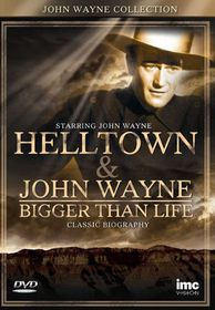 John Wayne Collection: Helltown & John Wayne: Bigger Than Life - (Import DVD)