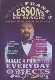 Magic Frank's Lessons in Magic: Volume 1 - (Import DVD)