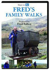 Fred's Family Walks - (Import DVD)
