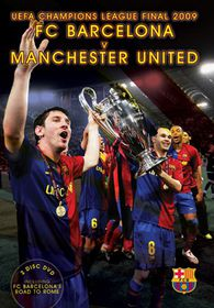 FC Barcelona's Road to Rome - UEFA Champions League Final 2009 - (Import DVD)