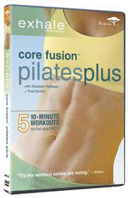 Exhale Core Fusion: Pilates Plus - (Import DVD)