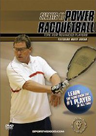 Secrets of Power Racquetball: Tips for Advanced Players - (Import DVD)