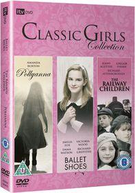 Pollyanna/The Railway Children/Ballet Shoes - (Import DVD)