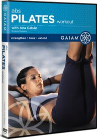 Gaiam Pilates Abs Workout - (Import DVD)