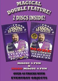 Magic Frank's Lessons in Magic: Magic 4 Fun and More Magic 4 Fun - (Import DVD)