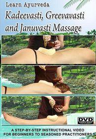 Learn Ayurveda: Kadeevasti, Greevavasti and Januvasti Massage - (Import DVD)