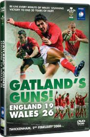 Gatland's Guns: England 19, Wales 26 - (Import DVD)