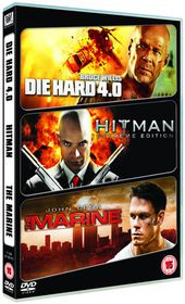 Die Hard 4.0/Hitman/The Marine - (Import DVD)