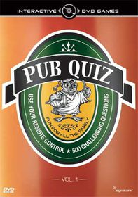 Interactive Pub Quiz: Volume 1 - (Import DVD)