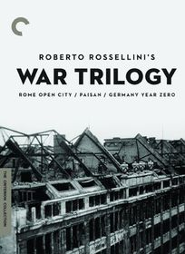 Roberto Rossellini's War Trilogy - (Region 1 Import DVD)