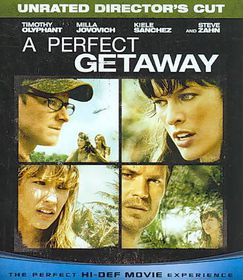 Perfect Getaway Theatrical/Unrated Dc - (Region A Import Blu-ray Disc)