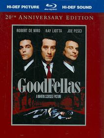 Goodfellas:20th Anniversary - (Region A Import Blu-ray Disc)