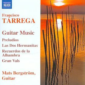 Tarrega: Guitar Music - Guitar Music (CD)