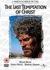 The Last Temptation of Christ - (DVD)