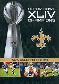 Nfl Super Bowl Xliv Champions - (Region 1 Import DVD)