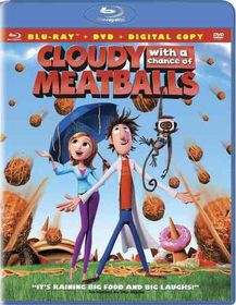 Cloudy with a Chance of Meatballs - (Region A Import Blu-ray Disc)