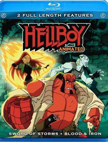 Hellboy: Sword of Storms / Blood & Iron - (Region A Import Blu-ray Disc)