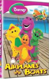 Barney - Airplanes and Boats- (DVD)