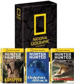 National Geographic :  Hunter Hunted Boxset (DVD)