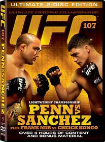 UFC 107 - (Region 1 Import DVD)