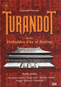 Turnadot at Forbidden City of Beijing - (Region 1 Import DVD)