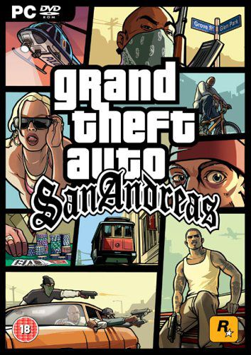 Grand Theft Auto: San Andreas (PC DVD-ROM)
