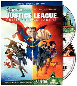 Justice League: Crisis on Two Earths (Two-Disc Edition) - (Region 1 Import DVD)