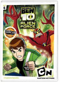 Ben 10 Alien Force: Vol6 - (Region 1 Import DVD)