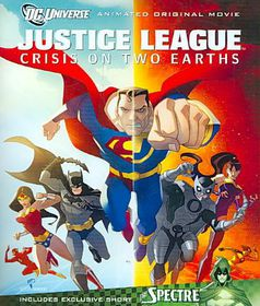 Justice League:Crisis on Two Earths - (Region A Import Blu-ray Disc)